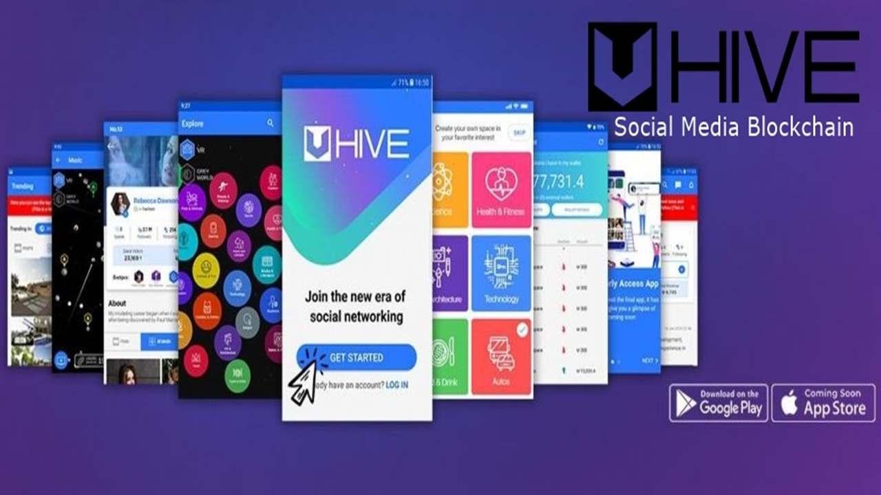 Uhive Social Media Blockchain